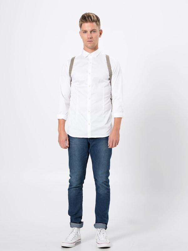 Jackamp; s Noos' Shirt En L Blanc 'jjprparma Jones Chemise vw0mN8n