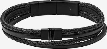 Bracelet 'Vintage Casual' FOSSIL en noir