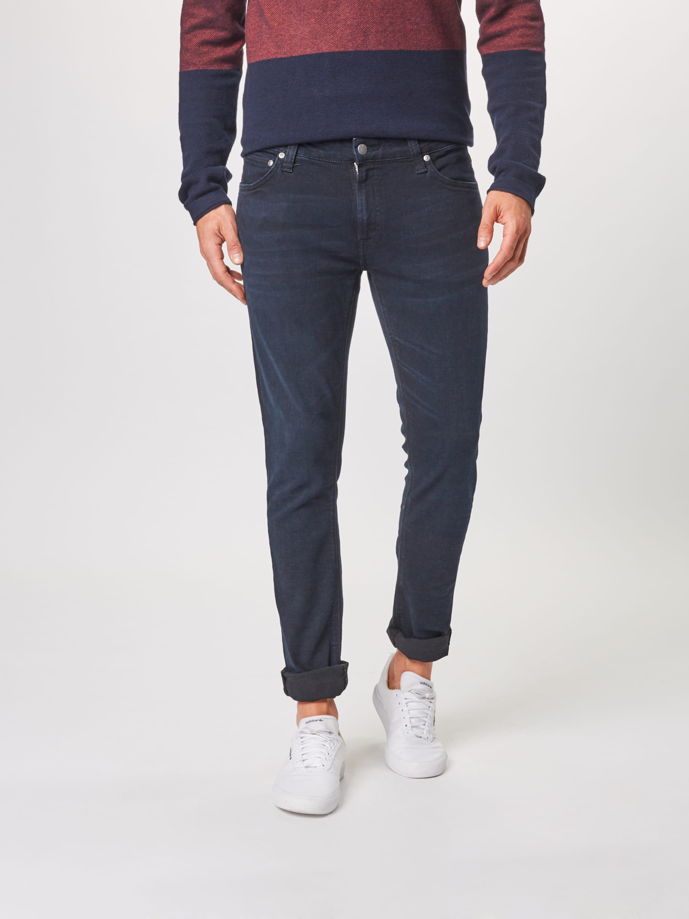 'skinny Nudie Jeans Lin' Co Denim In Blue Rj4ALq35