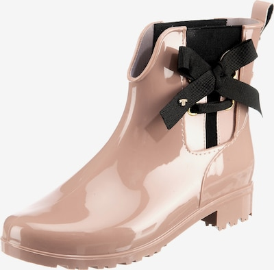 TOM TAILOR Gummistiefel in rosa / schwarz, Produktansicht