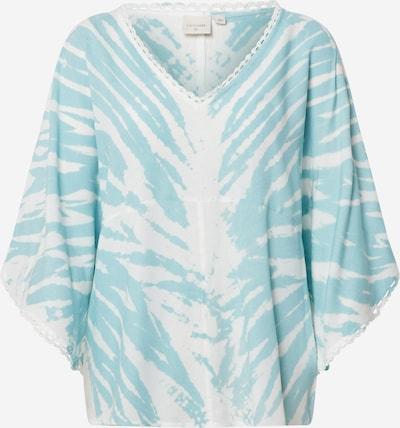 Cream Blusenshirt 'LisanaCR' in aqua / weiß, Produktansicht