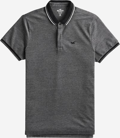 HOLLISTER Poloshirt in graumeliert / schwarz, Produktansicht