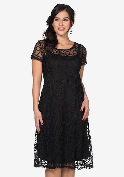 SHEEGO Spitzenkleid in schwarz, Modelansicht