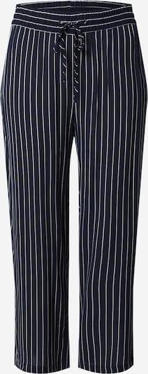 JACQUELINE de YONG Hose in nachtblau / offwhite, Produktansicht