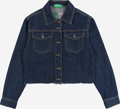 UNITED COLORS OF BENETTON Tussenjas in de kleur Blauw denim, Productweergave