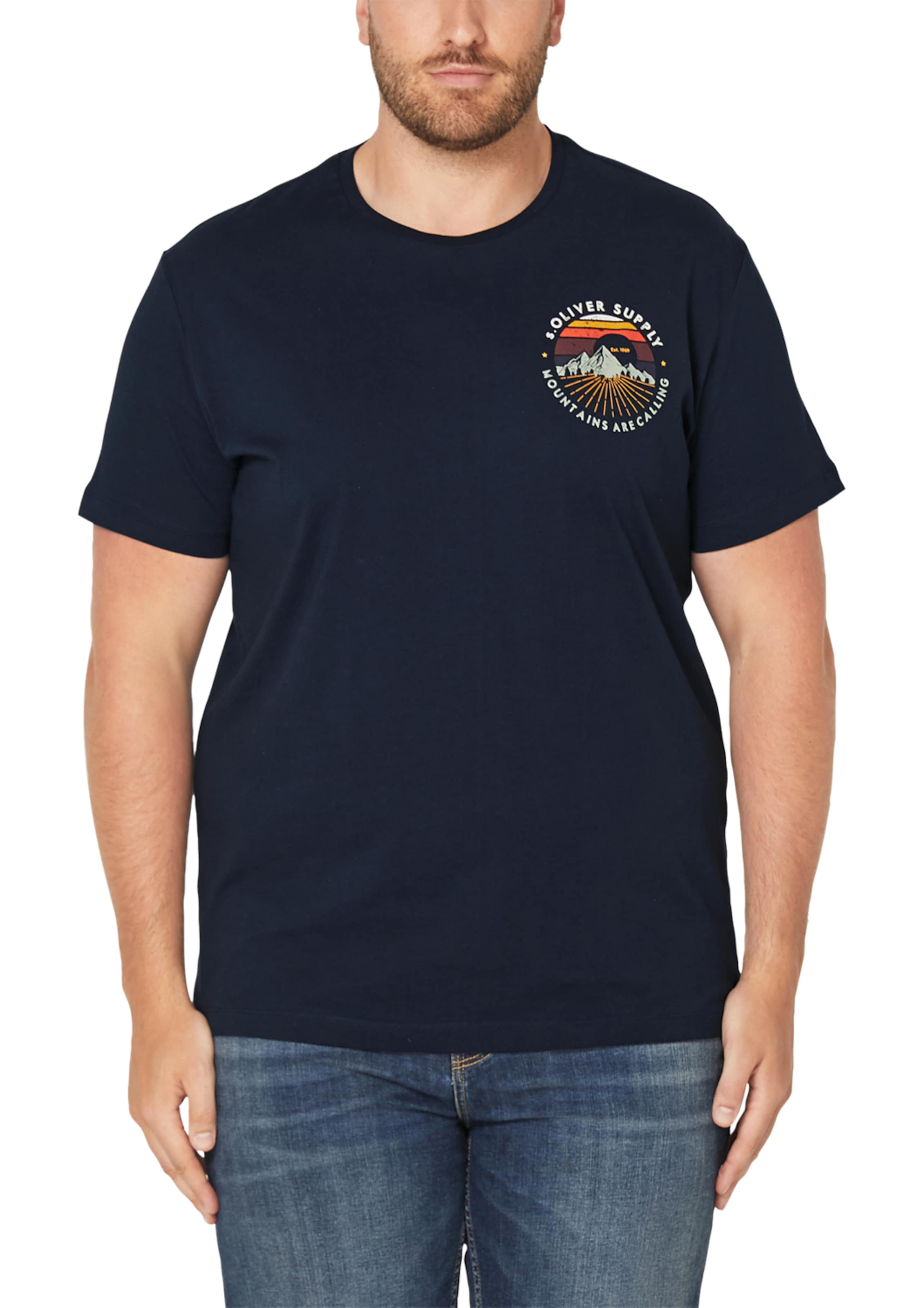 Nachtblau Jerseyshirt In S S oliver dQWErxoBCe
