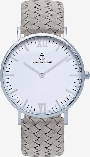 Kapten & Son Armbanduhr 'Campina' in grau / silber, Produktansicht