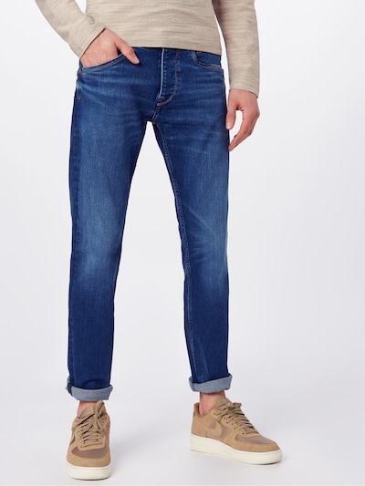 Pepe Jeans Jeans 'Spike' in blue denim: Frontalansicht