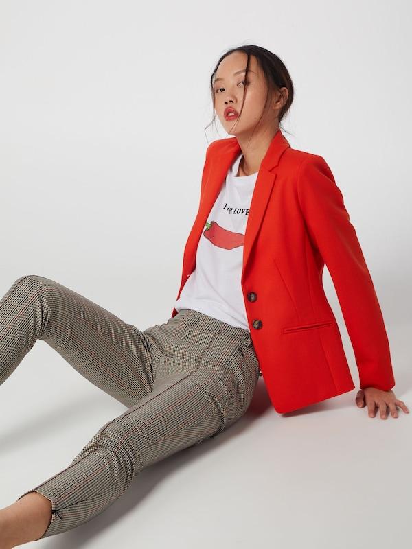 SET Blazer in rot  Freizeit, Freizeit, Freizeit, schlank, schlank 3fa621