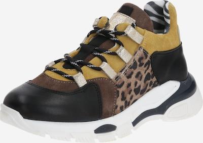 BULLBOXER Sneaker in braun / gelb / schwarz, Produktansicht