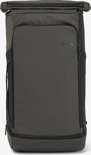 SALZEN Reistas 'Triplete' in de kleur Kaki / Zwart, Productweergave