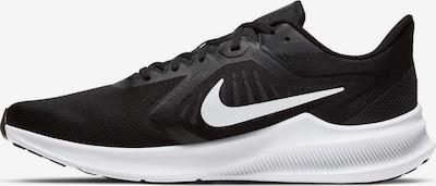 NIKE Laufschuh 'Downshifter 10' in schwarz / weiß, Produktansicht