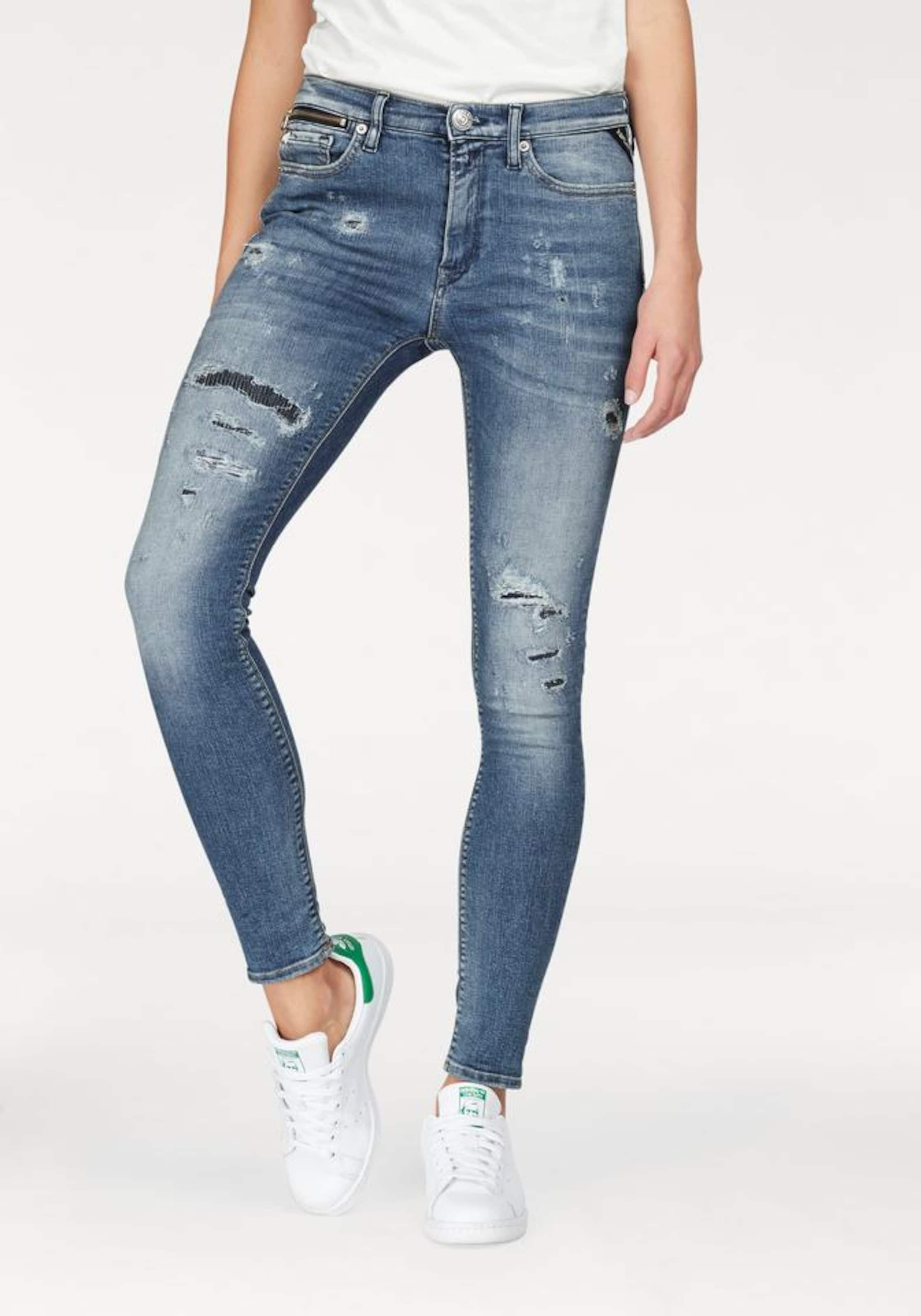 REPLAY Skinny-fit-Jeans 'ZACKIE' Super Zum Verkauf Günstig Online Angebot mN0XCt