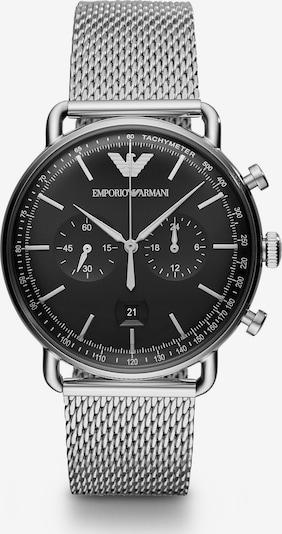 Emporio Armani Chronograph 'AR11104' in schwarz / silber, Produktansicht