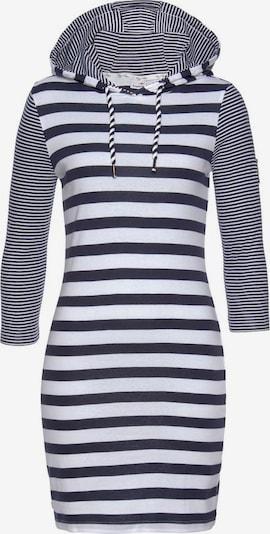 KangaROOS Kleid in marine / weiß, Produktansicht