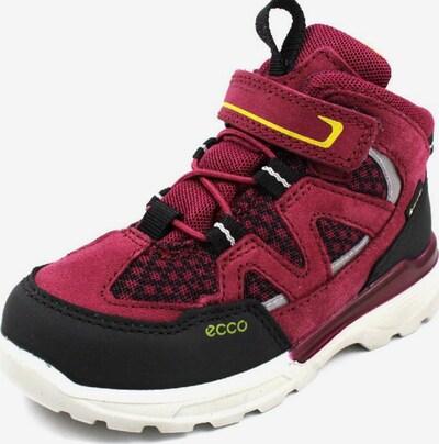 ECCO Stiefel in dunkelrot / schwarz, Produktansicht