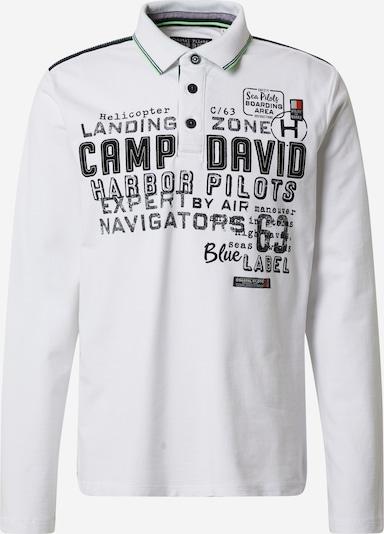 fekete / fehér CAMP DAVID Póló, Termék nézet