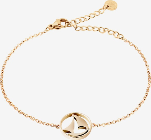 Paul Hewitt Armband 'Sail Away PH-B-B-G' in gold: Frontalansicht
