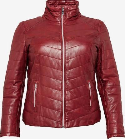 sheego style Jacke in rubinrot, Produktansicht
