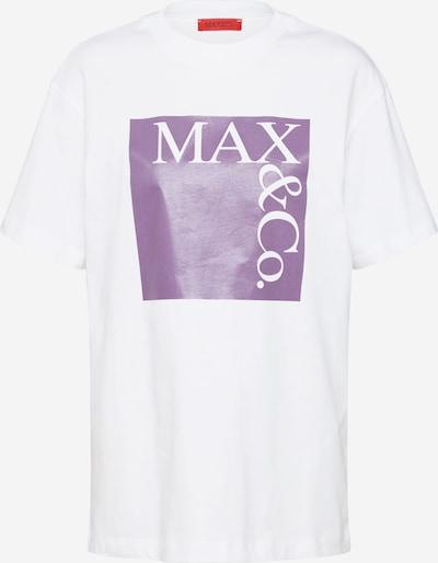 MAX&Co. Shirt in lila / weiß, Produktansicht