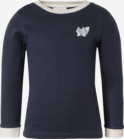 JACKY Unterhemd in dunkelblau / weiß, Produktansicht