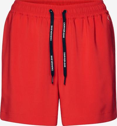 Calvin Klein Drawstring Shorts ' ' in feuerrot, Produktansicht