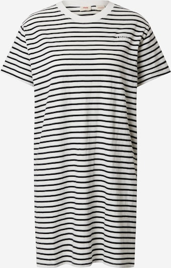 LEVI'S Dress 'LULA TEE DRESS' in black / white, Item view