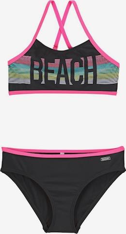 BENCH Bikini in Schwarz