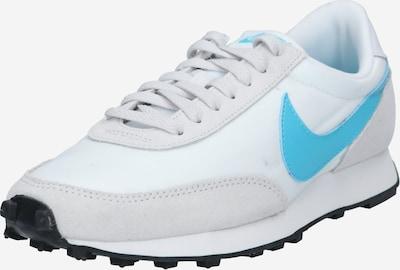 Nike Sportswear Baskets basses 'Daybreak' en bleu cyan / gris clair / blanc, Vue avec produit