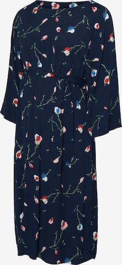 MAMALICIOUS Kleid in dunkelblau / mischfarben: Frontalansicht