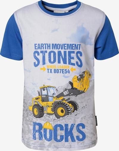 SALT AND PEPPER Shirt 'Bagger' in blau / weiß, Produktansicht