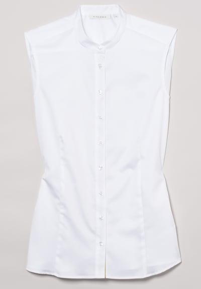 ETERNA ohne Arm Bluse MODERN CLASSIC in weiß, Produktansicht