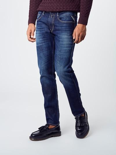 REPLAY Jeans 'Anbass HYPERFLEX' in blue denim, Modelansicht
