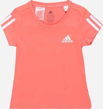 ADIDAS PERFORMANCE Functioneel shirt in de kleur Koraal / Wit, Productweergave