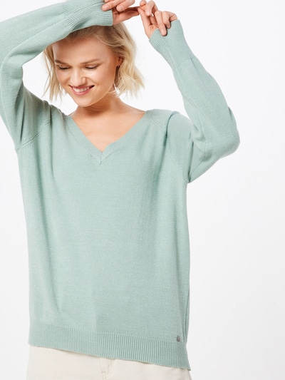 Cream Pullover 'Lorenza' in hellgrün, Modelansicht