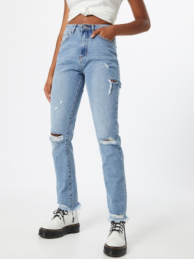Missguided Jeans in blue denim, Modelansicht