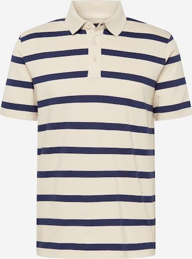 UNITED COLORS OF BENETTON Shirt in dunkelblau / hellgrau, Produktansicht