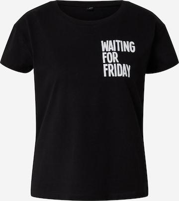 Merchcode Shirt 'Waiting For Friday' in Black
