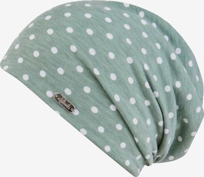 chillouts Cepure 'Lucerne Hat' piparmētru / balts, Preces skats