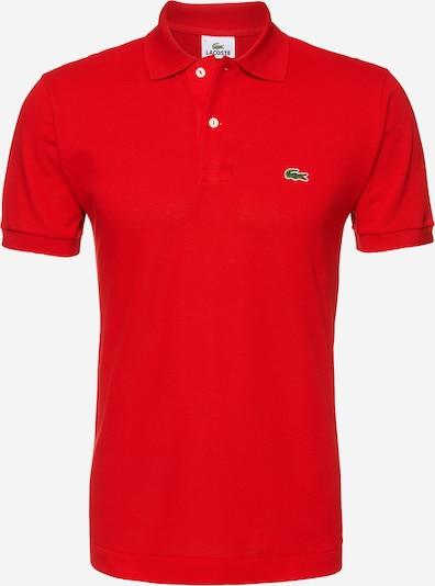 LACOSTE T-Shirt en rouge, Vue avec produit