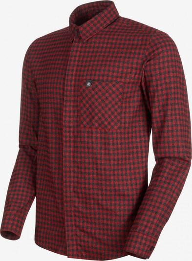 MAMMUT Winterhemd in rot / schwarz, Produktansicht