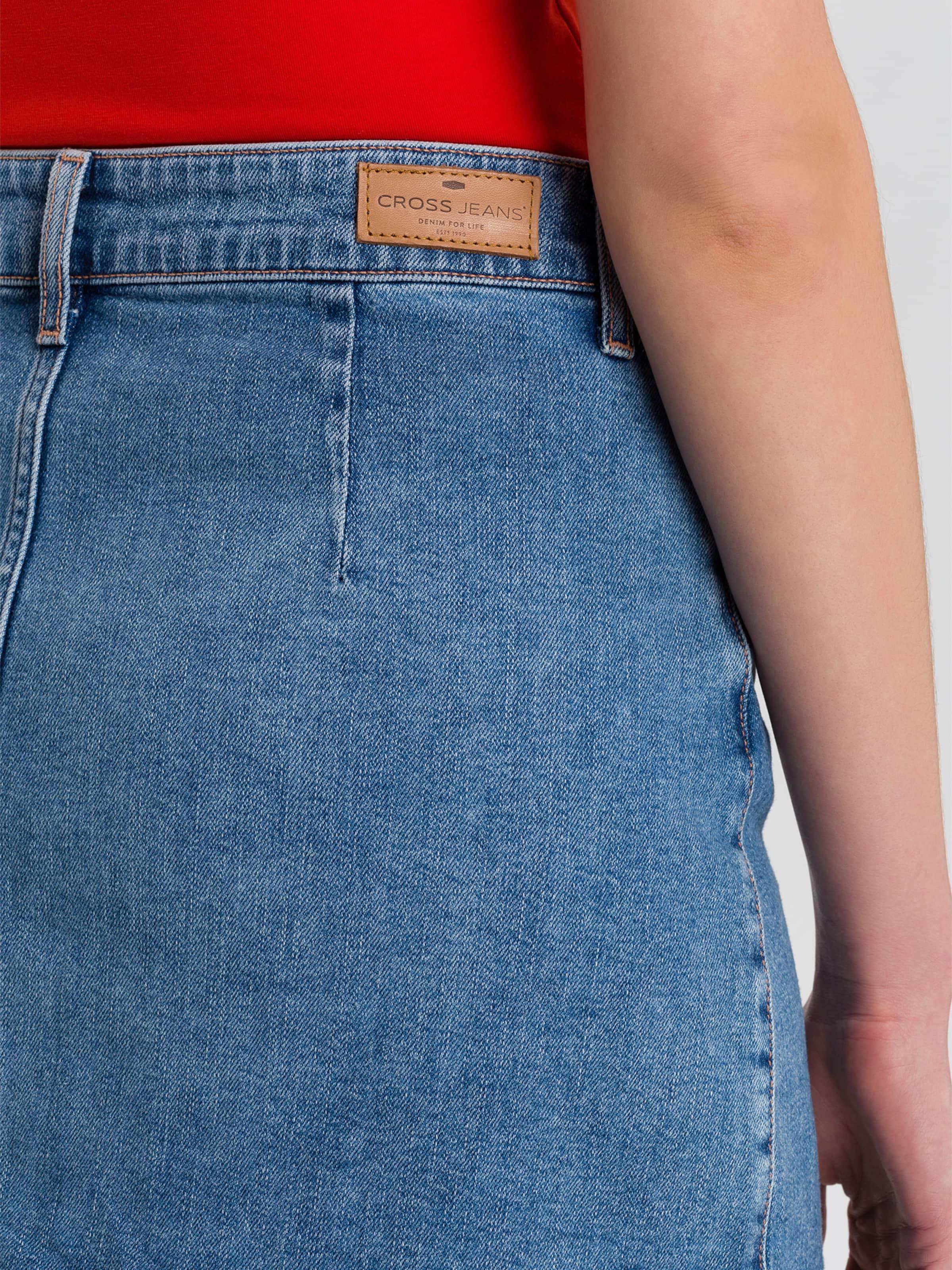 Blue In Cross Rock 'tracy' Jeans Denim 5j4ARL