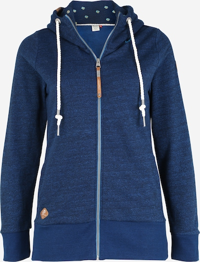 Ragwear Plus Sweatjacke 'YODA' in navy, Produktansicht