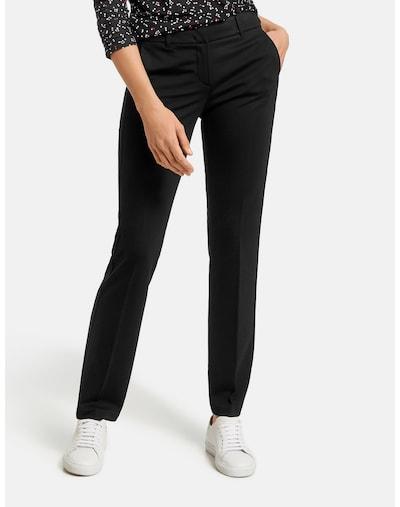 TAIFUN Pleated Pants in Black, View model