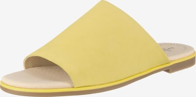 CLARKS Pantoletten 'Bay Petal' in gelb, Produktansicht