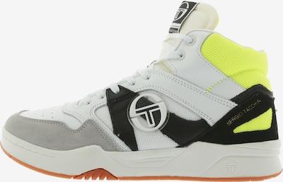 Sergio Tacchini Sneaker 'Gareth MID Action LTH' in limone / schwarz / weiß, Produktansicht