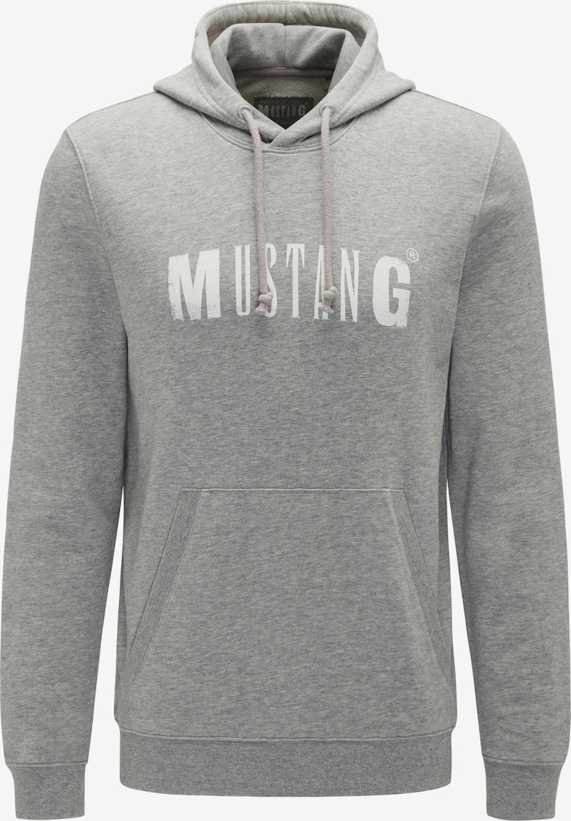 MUSTANG Sweatshirt ' Hoodie ' in Grau   ABOUT YOU
