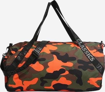 Urban Classics Reisetasche in grün / orange, Produktansicht