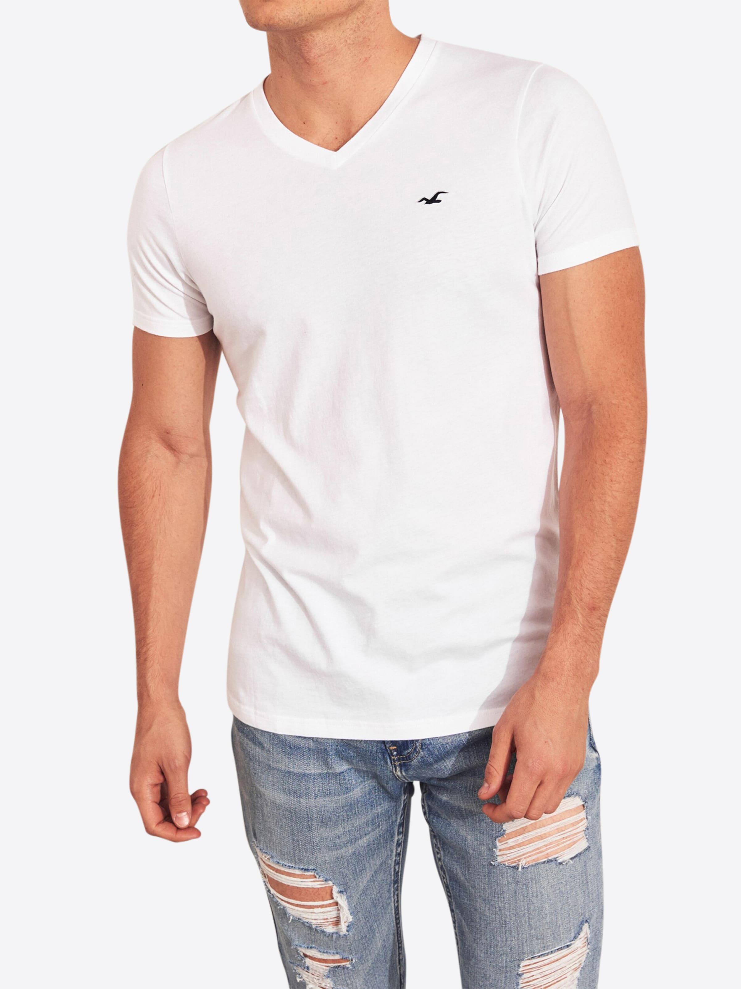 T Hollister En T shirt En Hollister Blanc shirt OukXiZPT