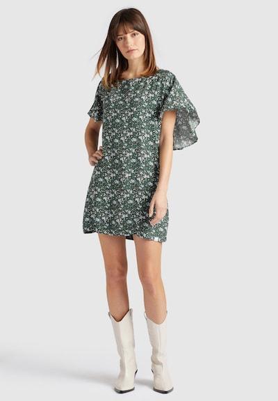 khujo Kleid ' TESSY ' in grün / mischfarben, Modelansicht